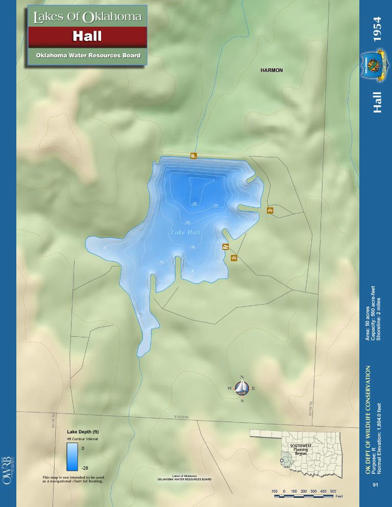 Lake Hall Map