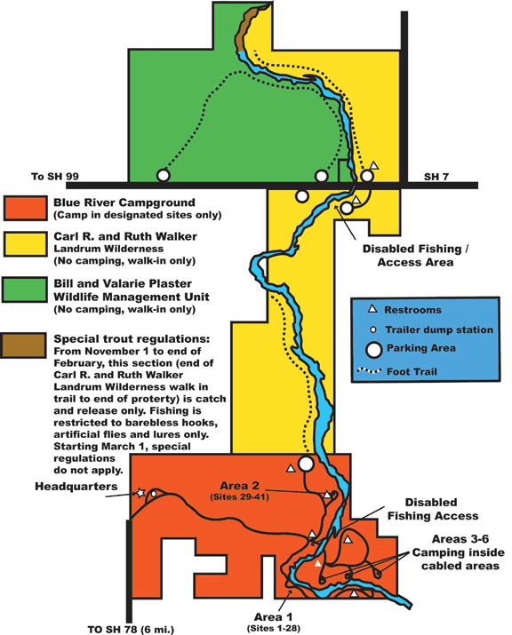 Blue River Map
