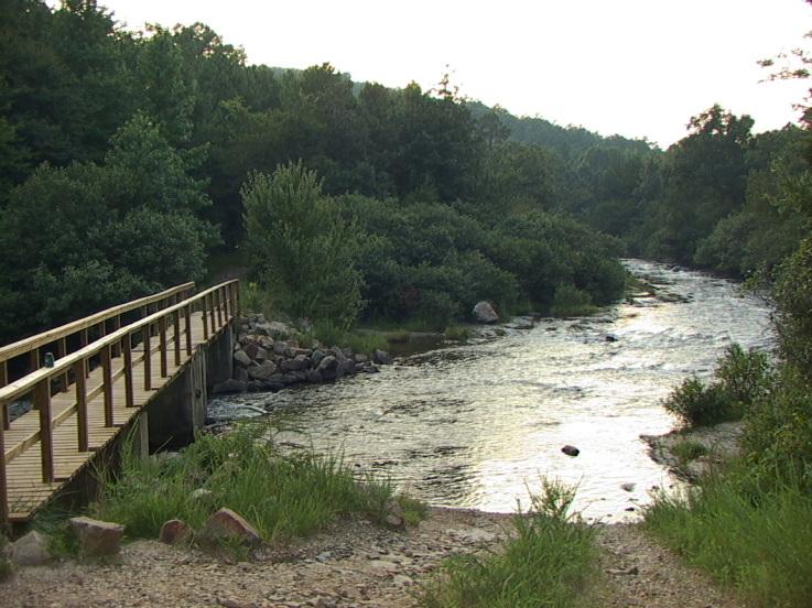 Lower Mountain Fork River Oklahoma